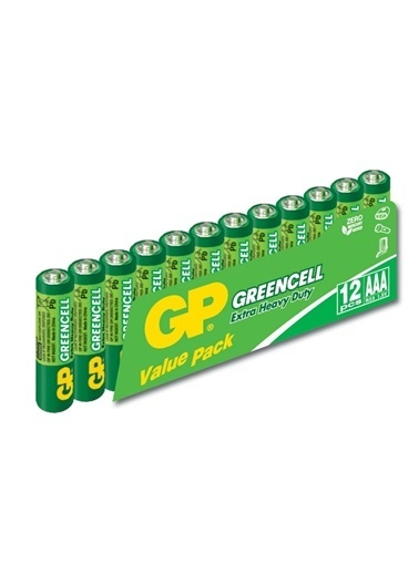 GP Manganez AAA İnce Kalem Pil 12'li Paket Renksiz